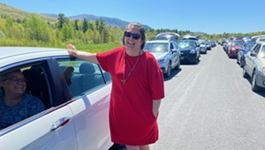 Thousands of Vermonters Flock to Food Distribution in Middlebury
