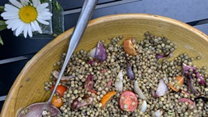 Home on the Range: A Big Bowl of Lentils