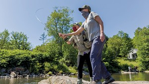 Angling for Insight on a Vermont Fly-Fishing Tour