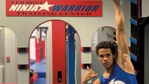 'American Ninja Warrior' Amir Malik Trains in Essex