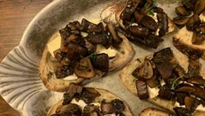 Home on the Range: Mushrooms on Toast