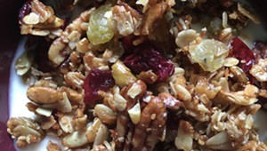 Home on the Range: Honey and Maple Granola