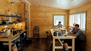 Vermont Huts Association Offers Remote and Pandemic-Safe Lodgings