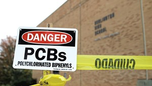 Burlington High School Could Be Demolished After More Contamination Found