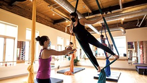 Plunging Into Post-Pandemic Exercise With Aerial Dance