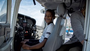 High in the Sky: Flight VT Takes Young People Airborne