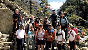 Bottom Line: A Tough Year of Business for US Sherpa Is Bookended by a COVID-19 Wave in Nepal
