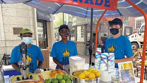 A Sip of Summer: Kids From King Street Center Are Slinging Citrus on Church Street Once Again