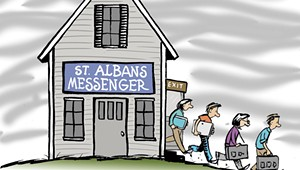 The 'Ghost' of Franklin County? The 'St. Albans Messenger' Is a Shadow of Its Former Self