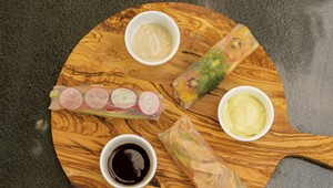 Mealtime: Spring Rolls Three Ways