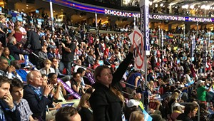 Boo Who? It's Bernie or Bust at the Democratic Convention