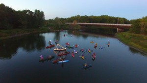 River of Light: Harvest Moon Winooski Paddle [SIV460]