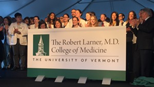 UVM Renames Medical College for Alumnus After $100 Million in Gifts