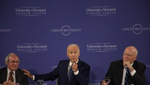 At UVM Roundtable, Biden Calls for Renewed Focus on Cancer Research