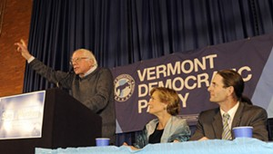 Sanders Fires Up Montpelier Crowd for Vermont Democrats