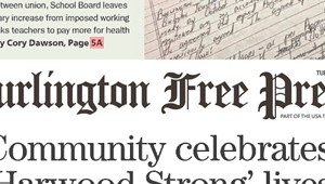 Media Note: <i>Burlington Free Press</i> Lays Off Three Newsroom Staffers