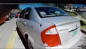 Chief Praises Officer for <i>Not</i> Shooting at Suspect in a Car