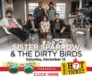 Win Tickets: Sister Sparrow and the Dirty Birds
