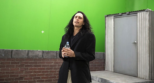 SHOOTING FOR GLORY James Franco plays would-be auteur Tommy Wiseau in his decent film about the making of a terrible one.