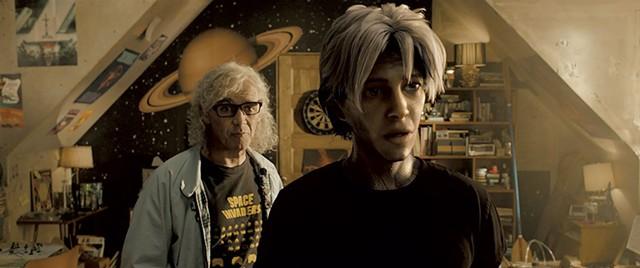 GAME GURU Rylance (left) is the emotional heart of Spielberg's crowded, self referential adventure
