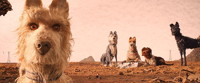 WOOF OF LIFE Dogs don't actually eat dogs (mostly) in Anderson's whimsical animation about canines in quarantine