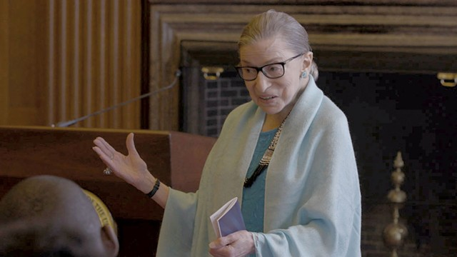 POETIC JUSTICE Ginsburg is magnetic in this documentary about her rise from humble beginnings to the Supreme Court to online celebrity.