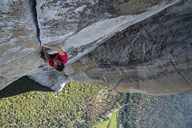 MADE TO SCALE Honnold proves a gripping subject in the latest from the team that gave us Meru.