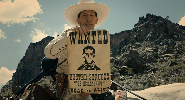 AT HOME ON THE RANGE The Coens once again prove themselves capable of making any given year's best western