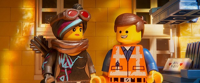 DON'T BE A BRICK A Nice Guy and an Edgy Gal try to find common ground in the surprisingly satirical sequel to the toy-based hit.