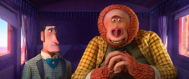 FUDDY-BUDDY A Victorian monster hunter and his bigfoot quarry become unlikely friends in Laika's new stop-motion animation.