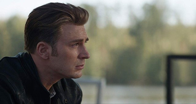 THIS IS THE END Captain America sheds the proverbial single tear as a cycle of the superhero franchise draws toward a close