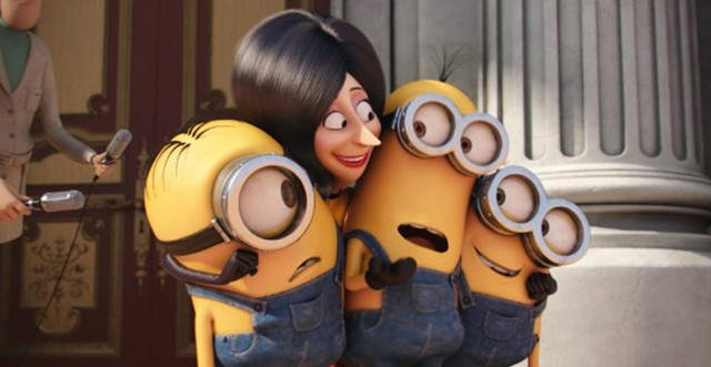 YELLOW FEVER: The Minions embark on a cuteness crusade to take over the world in their first solo feature.