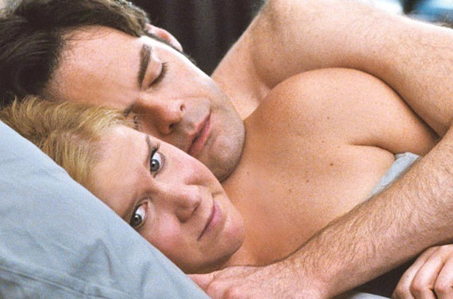 AFTER-LOW: Schumer experiences second thoughts about her latest hookup in Apatow's uneven comedy.