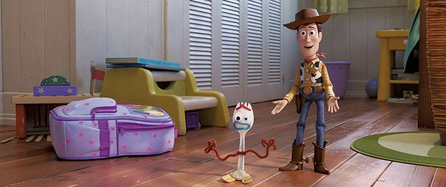 "FORK IN IT A strange new ""toy"" disrupts the rhythms of playtime in the fourth installment of Pixar's beloved series."