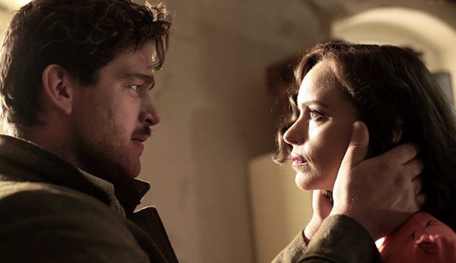 STRANGER DANGER: Hoss plays a Holocaust survivor who pretends not to be herself in this intense German period drama.