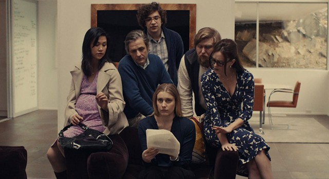 READING GROUP: Gerwig gets the story on what her new friend really thinks of her in Baumbach's winning new work.