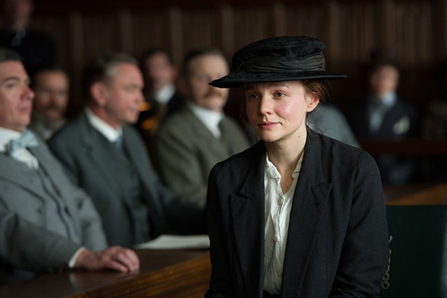 Another Education: Mulligan plays a laundry worker who finds herself drawn reluctantly into the women's suffrage movement in Gavron's period piece.