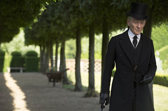 MYSTERY MAN McKellen is extraordinary in the role of the legendary detective looking for clues to the riddle of his life