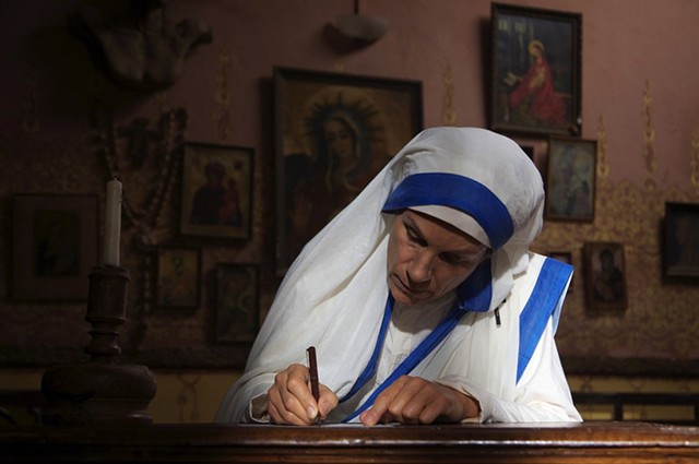 """MOTHER ISSUES From its inert pacing and inept direction to the overwrought score and stilted dialogue, this amateurish portrait of the religious icon gives new meaning to the words """"holy crap."""""""
