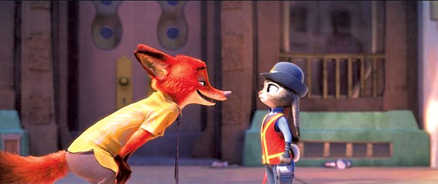 OUTFOXED A bunny cop must work with her species' ancient enemy to solve a case in the latest Disney animation.