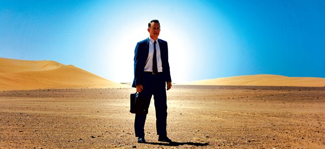 SANDMAN In his latest, Hanks plays a salesman who undergoes a midlife crisis and is likely to make your eyelids droop.