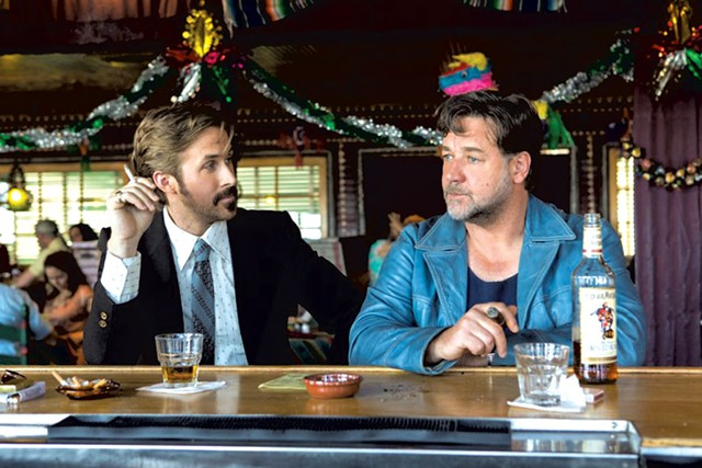 FINISHING LAST Gosling and Crowe play two '70s gumshoes who pretty much define uncool in Black's clever comedy.