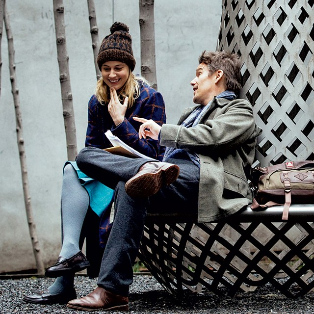 MILLER TIME Gerwig and Hawke are paired in the filmmaker's rom-com debut, a picture that playfully turns conventions of the genre on their heads.