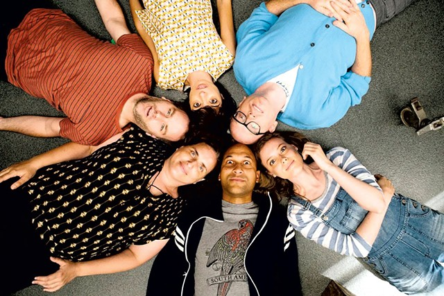 GROUPTHINK Individual ambitions threaten a tight-knit improv troupe in Birbiglia's wryly funny tribute to the form.
