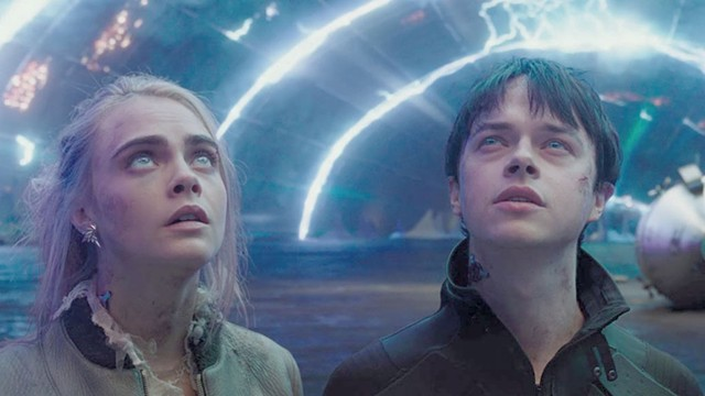 UNDYNAMIC DUO DeHaan and Delevingne aren't exactly out of this world as a pair of wisecracking space cops in Besson's sci-fi epic.