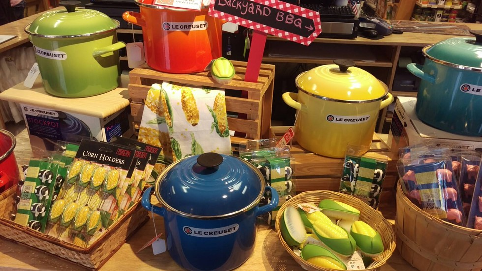 Le Creuset cookware - COURTESY OF KISS THE COOK