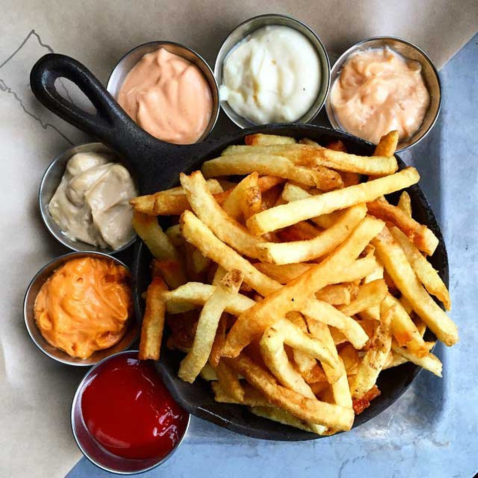 Fries at Prohibition Pig - COURTESY OF PROHIBITION PIG