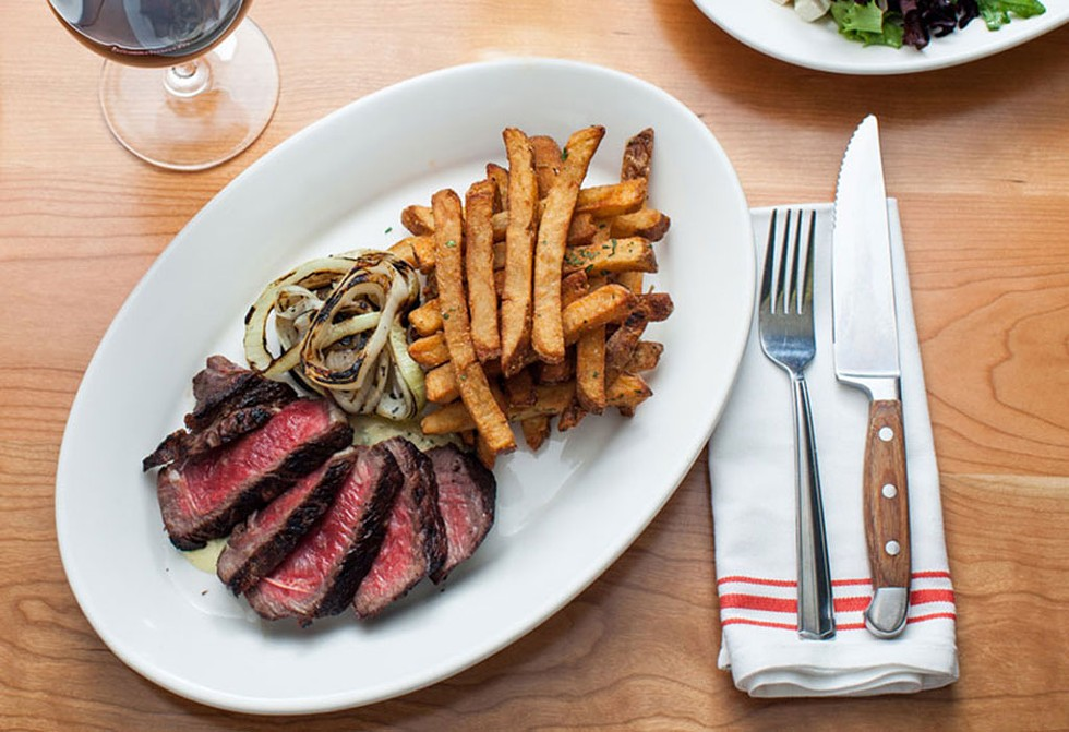 Steak at Guild Tavern - COURTESY OF GUILD TAVERN