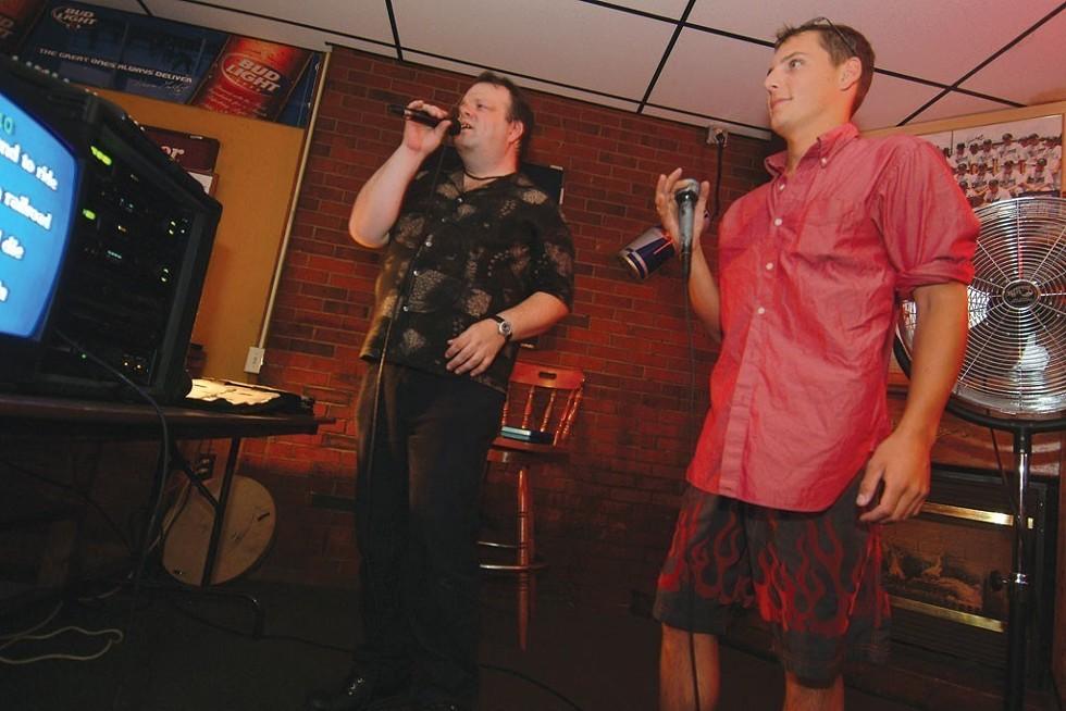 Karaoke at JP's Pub - FILE