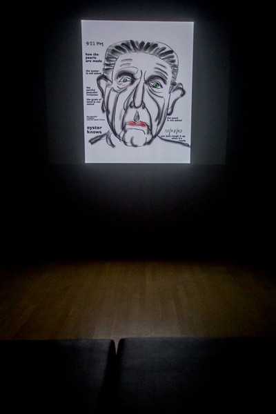 Self-portrait by Leonard Cohen - PHOTOS COURTESY OF SEBASTIEN ROY / MACM